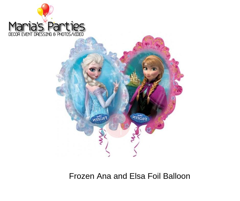 """18/"""" Foil Balloon Disney Frozen Birthday Party Free Postage UK"""