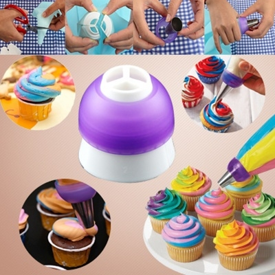 3 Colours Icing Piping Nozzles