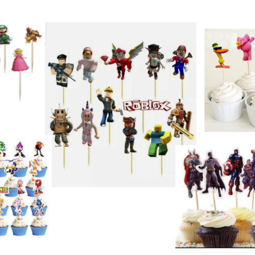 Cupcake Toppers - Party decorations