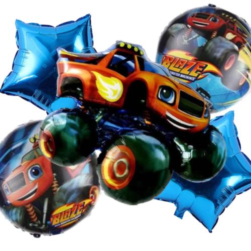 Blaze Monster Machine Foil Balloon